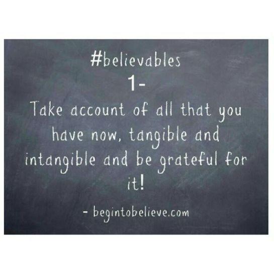 believables -1